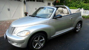 2005 Chrysler PT Cruiser GT Convertible in Excellent Condition
