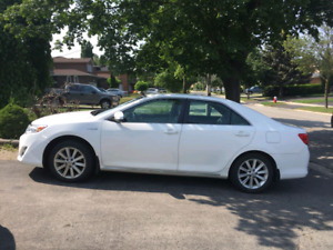 2012 Toyota Camry Hybrid  XLE  Extended warranty