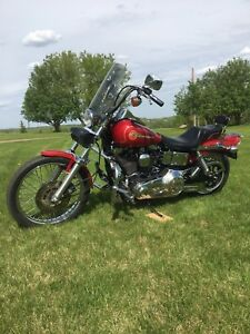 1994 Harley Dyna FXDWG in mint condition