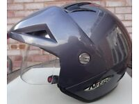 Nitro X512V Metallic Gun Colour Crash Helmet, Size=M Cosby, Leicestershire
