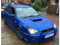 SUBARU IMPREZA WRX TURBO STI EXTRAS 276BHP SONIC BLUE UK BLOBEYE (VERSION 8) NOT IMPORT CLASSIC EVO