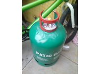 Still Available NEW 13KG Green Calor patio gas bottle