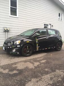 2012 Chevy Sonic LTZ Turbo for sale!