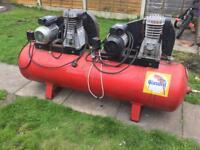 Air Compressor 300 Litre Tank Spares or Repair