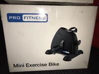 Mini exercise bike