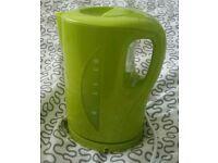 Lime green Argos kettle