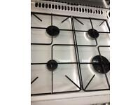 White stoves 55cm gas cooker grill & double oven good condition with guarantee