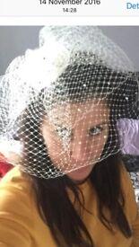 Wedding Veil Birdcage Vintage 👰🏽