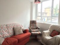 Double Room in a Bright, Quiet, Large Flat