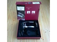 New boxed SOMMELIER WINE CORKSCREW SET