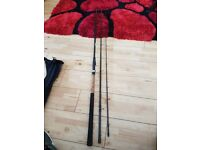 Two match fishing rods