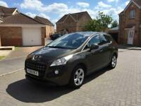 2011 PEUGEOT 3008 12 MONTH MOT FULL SERVICE HISTORY LOW MILEAGE FULL HPI CLEAR CROUIS