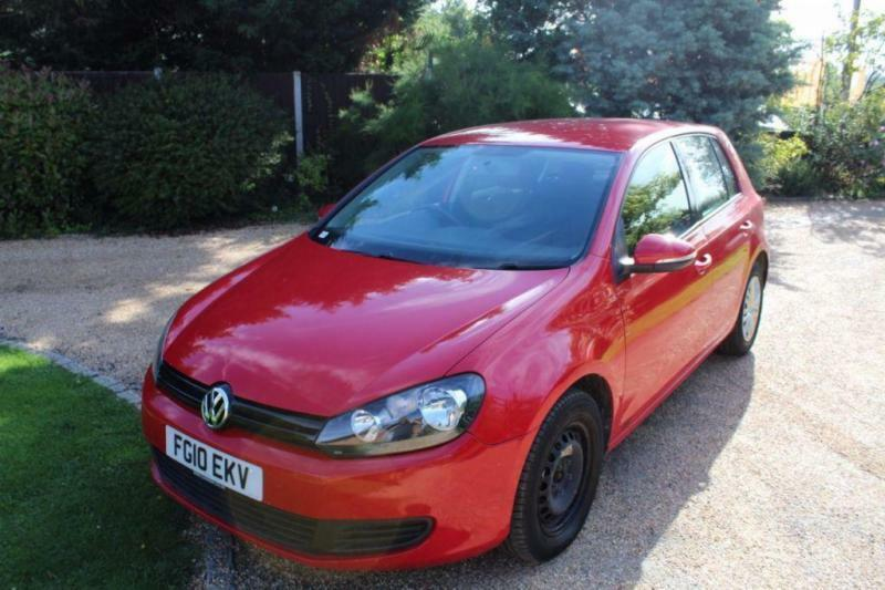 CHEAP CAR - 2010 10 VOLKSWAGEN GOLF 1.6 S TDI 5D 89 BHP DIESEL