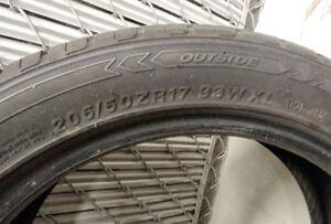 Hercules 205/50ZR17 93W XL Tires.