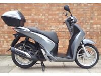 Honda SH 125 (16 REG), Immaculate condition with low mileage!