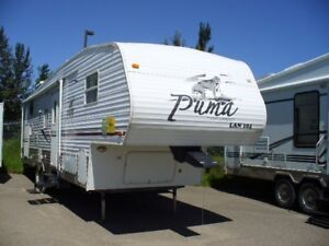 2006 PUMA 3110BSS QUAD BUNK 5TH WHEEL