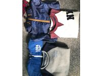 *REDUCED FOR QUICK SALE*Boys jumper/rainjacket bundle 8-9 yrs