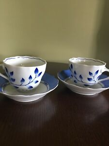Tea cups & saucers from Germany