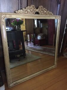 Beautiful Large Vintage Mirror