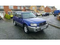 2003 subaru forester 2.0 x all weather awd automatic