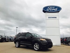 2014 Ford Explorer Limited, Leather, NAV, LOADED!!