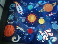 Unisex Child's Space rug