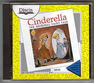 Cinderella-The Original Fairy Tale-Discis/Cd-Rom for Apple/Mac