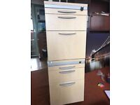 Wooden office drawer with Wheels and filing cabinit, storage unit