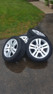 rims and tires for 2008 ford fusion