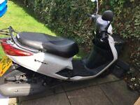 Yamaha Vity 125cc Moped White