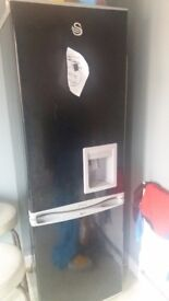 Swan 55cm fridge freezer with a chilled water dispenser