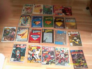 21 Comics DC comics, Marvel, Image etc.des années 80-90-2000