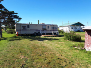 Ocean front Trailer for Rent with Private Beach access