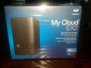 MY CLOUD EX2 BRAND NEW IN BOX