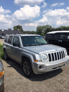 2009 Jeep Patriot SUV, Crossover AS-IS