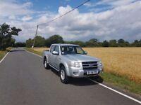 Ford Ranger pickup truck, 130000 miles, 58 plate
