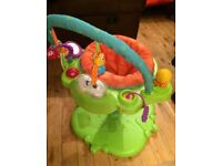 Fisher price bounce and spin froggy in excellent condition