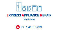 EXPRESS Appliance Repair TODAY - Call NOW - 587 319 6799