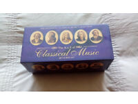 40 classical music cds excellent condition.
