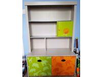 Vertbaudet animal theme book case/desk