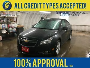 2014 Chevrolet Cruze RS TURBO*2LT*NAVIGATION*LEATHER*POWER SUNRO