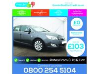 2010 Vauxhall Astra 1.7 cdti good / bad car finance / credit from £103 per month