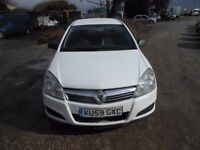 Vauxhall astra club van cdti, 2010 reg , 161,000 miles, 1700cc turbo diesel new mot upon purchase,