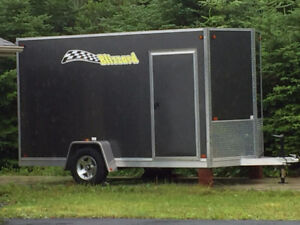 Blizzard V shape covered trailer - Mint condition.