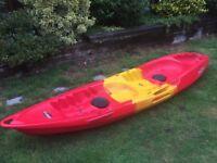 Sit on Top Tandem Kayak - Feelfree Gemini Sport