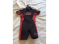 Child's short wet suit, 3-5 years old