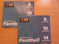 Paintball IPG tickets (20 tickets + 4000 Hunger Games paintballs)