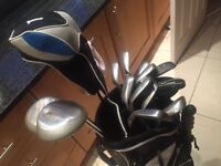 Full set of Golf Clubs + Accessories