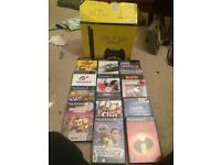Boxed slim sony Ps2 PlayStation console and games