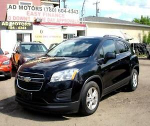 """ NO ACCIDENT "" 2013 CHEVROLET TRAX LT AUTO LOAD 100% FINANCING"